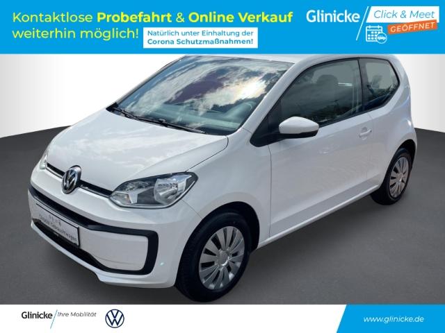 Volkswagen up! move 1.0 LED-Tagfahrlicht NR RDC Klima AUX USB Kom-paket ESP Seitenairb. Scheckheft, Jahr 2016, Benzin