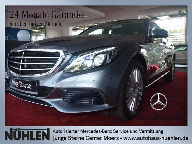 Mercedes-Benz C 180 EXCLUSIVE+LED+Navi+Automatik Sitzhzg./BC, Jahr 2017, Benzin