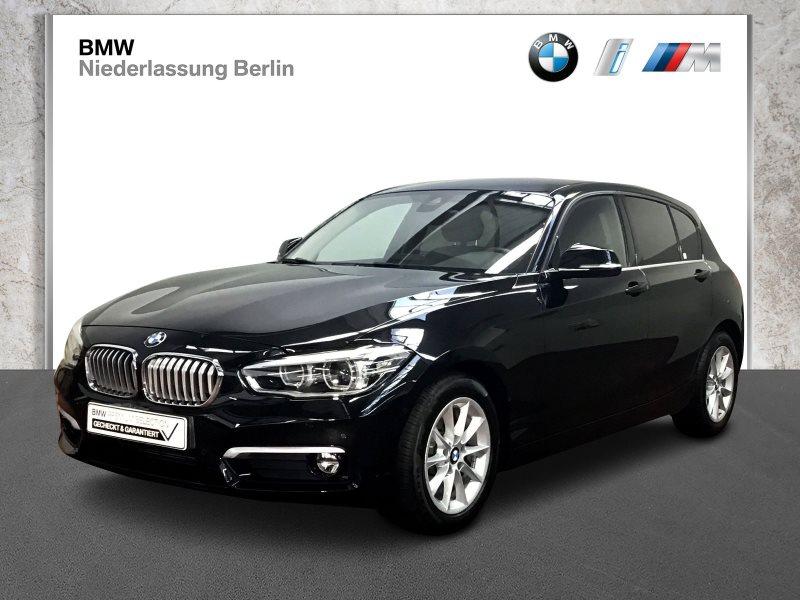 BMW 118i 5-Türer EU6 Aut. UrbanLine LED Parkassist., Jahr 2018, Benzin