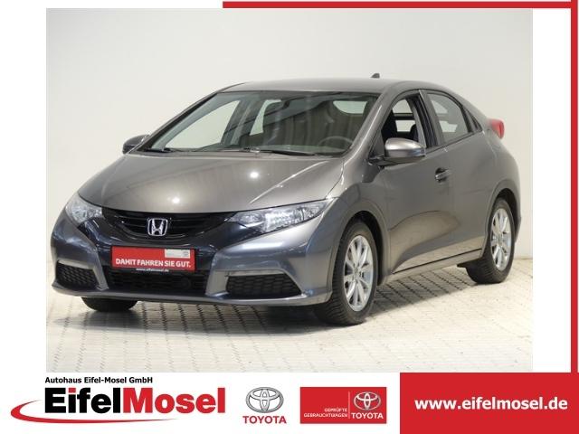 """Honda Civic 1,4 Comfort Klimaautomatik Alu 16"""" USB, Jahr 2013, petrol"""