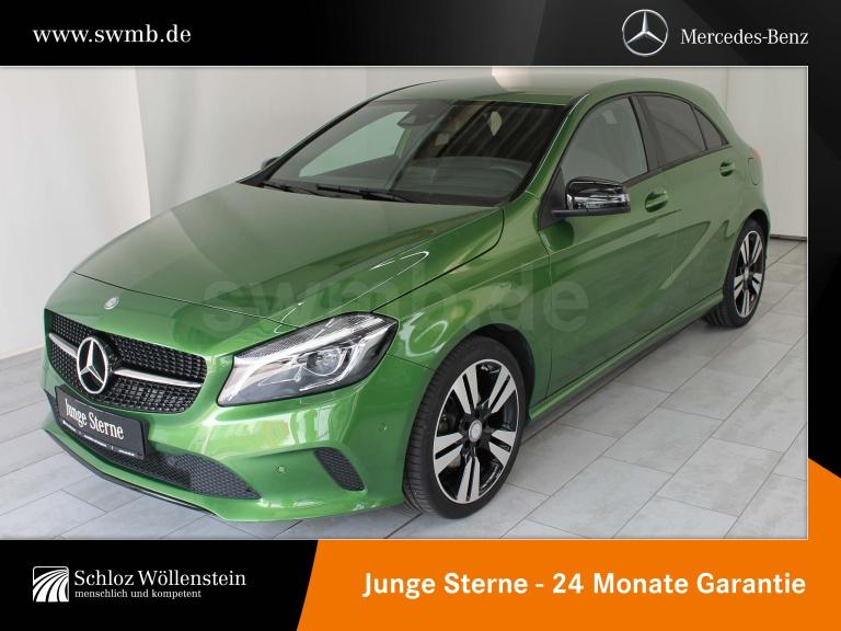 Mercedes-Benz A 220 4M SCORE! Urban/NightP/7G-DCT/SpurPkt./LED, Jahr 2016, Benzin
