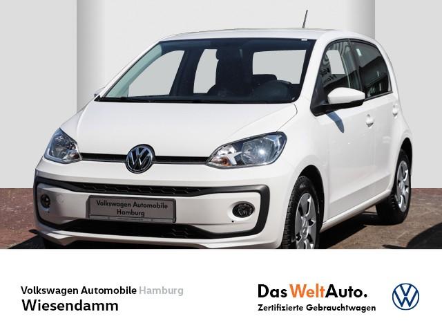 Volkswagen up! 1.0 move up! Klima ZV ESP Servo Sitzhzg vorn, Jahr 2017, Benzin