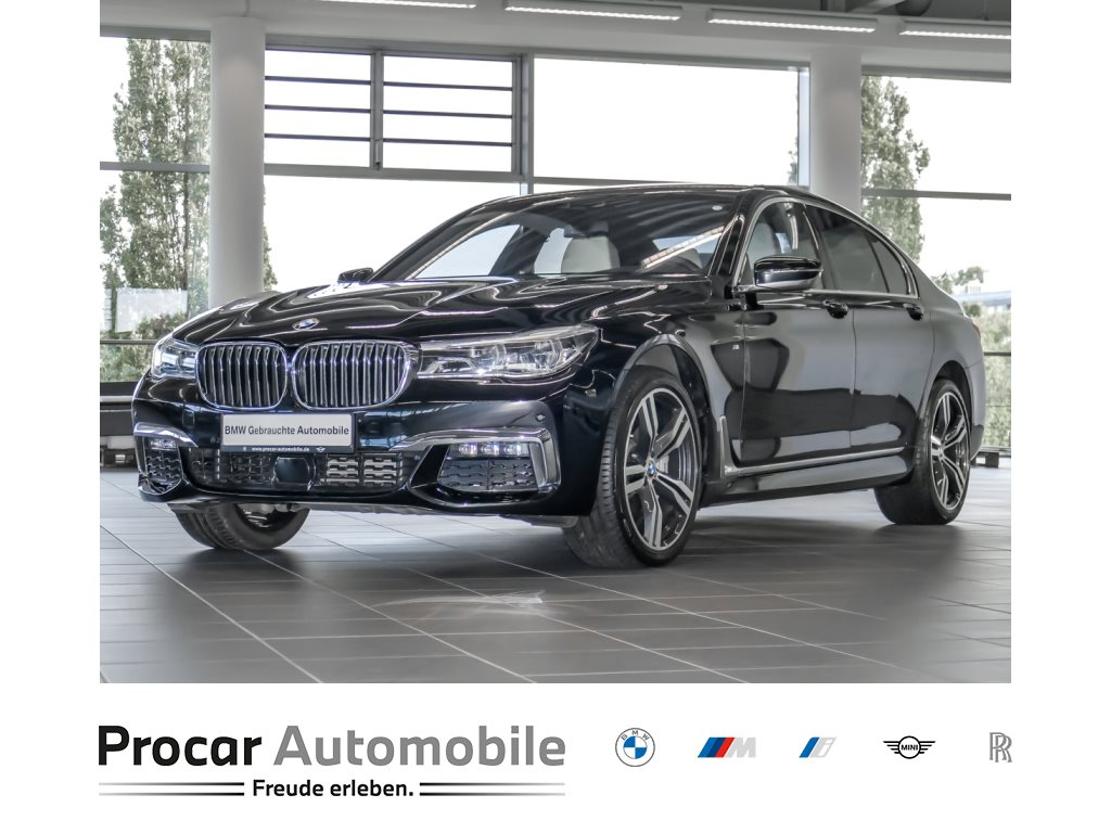 BMW 740d xDrive M Sport Head-Up DA+ Soft-Close Glsd., Jahr 2018, Diesel