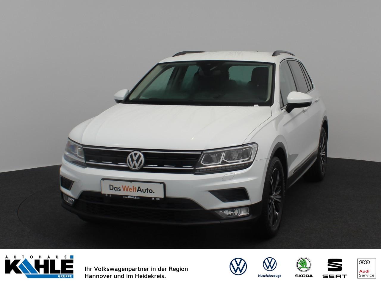 Volkswagen Tiguan 1.4 TSI DSG Comfortline Navi LED Klima ACC, Jahr 2016, Benzin