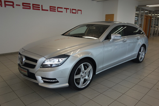 Mercedes-Benz CLS 500 Shooting Brake 4Matic AMG/NACHT/LED/SD, Jahr 2013, Benzin