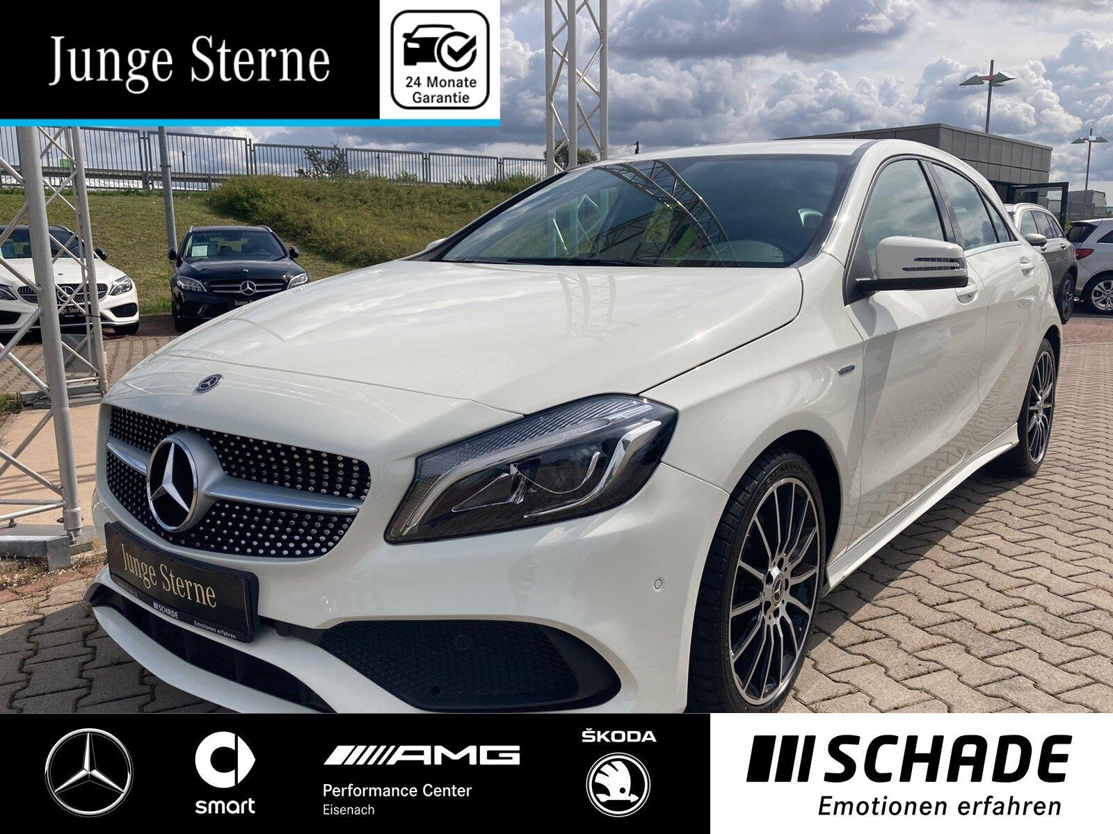 Mercedes-Benz A 220 d PEAK AMG Navi*LED*Totwinkel*Sitzheizung, Jahr 2017, Diesel