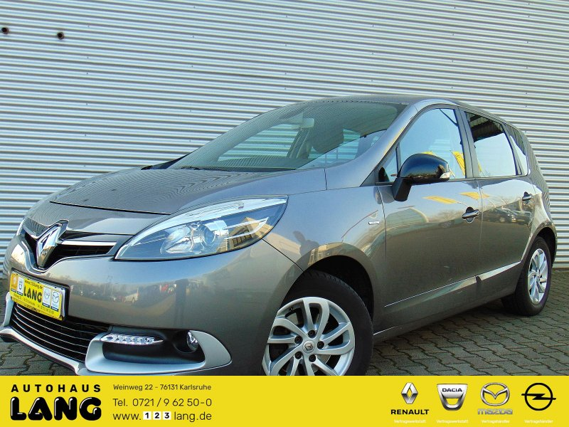 Renault Scenic 1.2 TCe 130 Limited ENERGY PDC Navi, Jahr 2014, Benzin