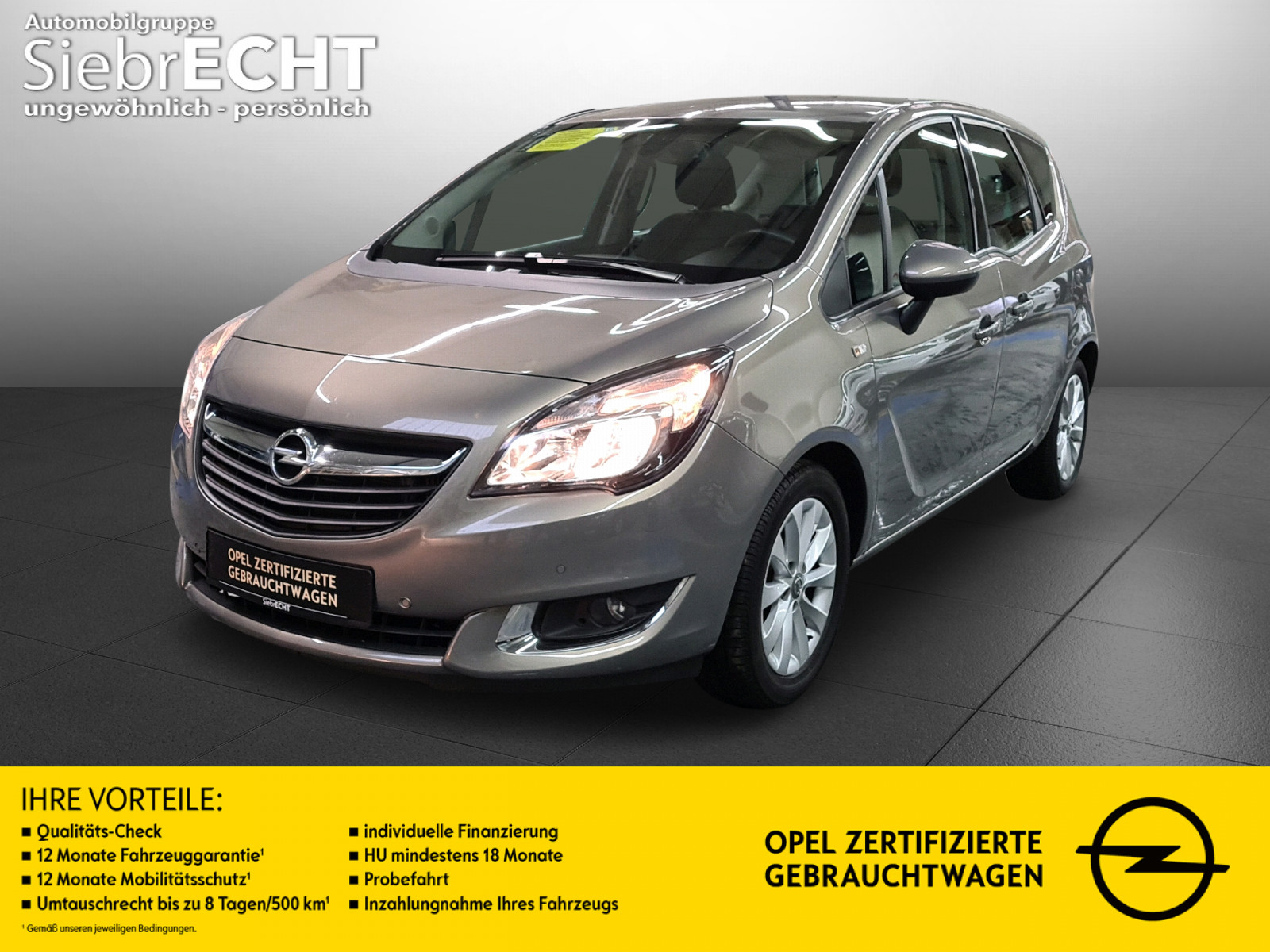 Opel Meriva Style 1.4 Turbo*Radio*CD Player*PDC, Jahr 2014, Benzin