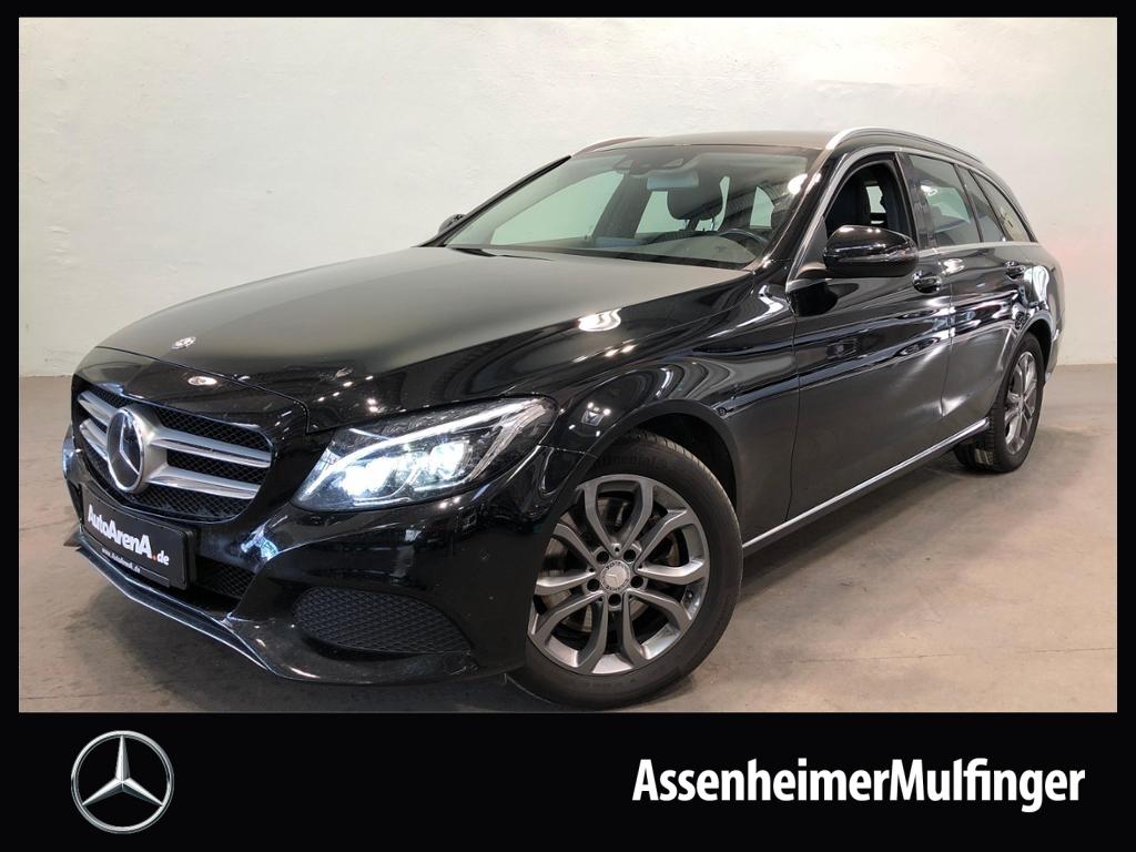 Mercedes-Benz C 300 h T Avantgarde **AHK/LED HP/Navi/Distronic, Jahr 2016, hybrid_diesel