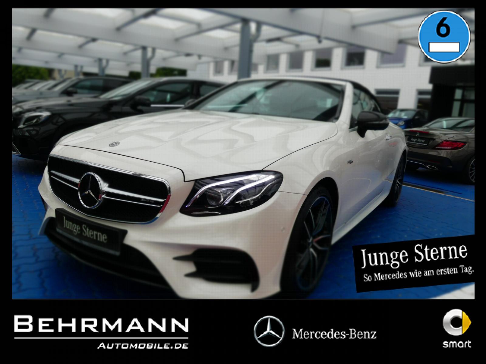 Mercedes-Benz AMG E 53 4M Cabrio +Distronic+360°Kamera+StdHzg+, Jahr 2019, Benzin