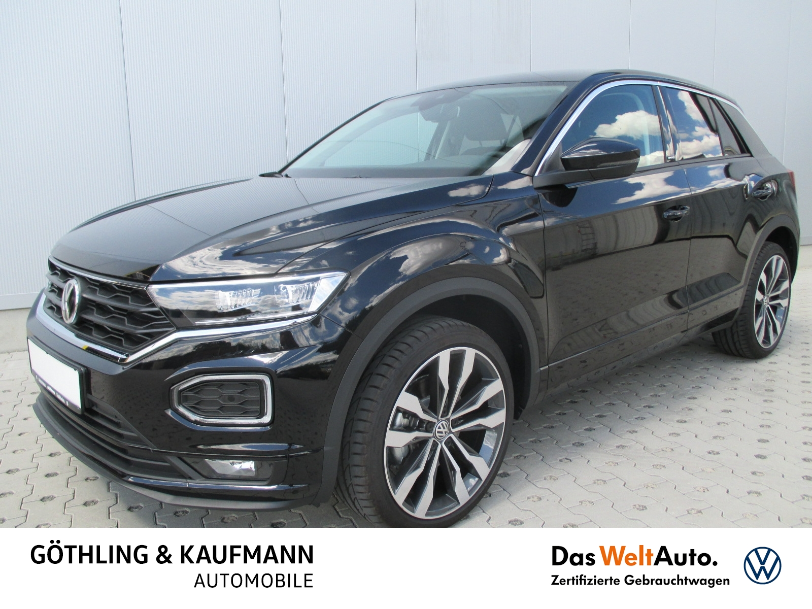 Volkswagen T-Roc 2.0 TDI 4M UNITED R-Line DSG 110kW*LED*Nav, Jahr 2020, Diesel