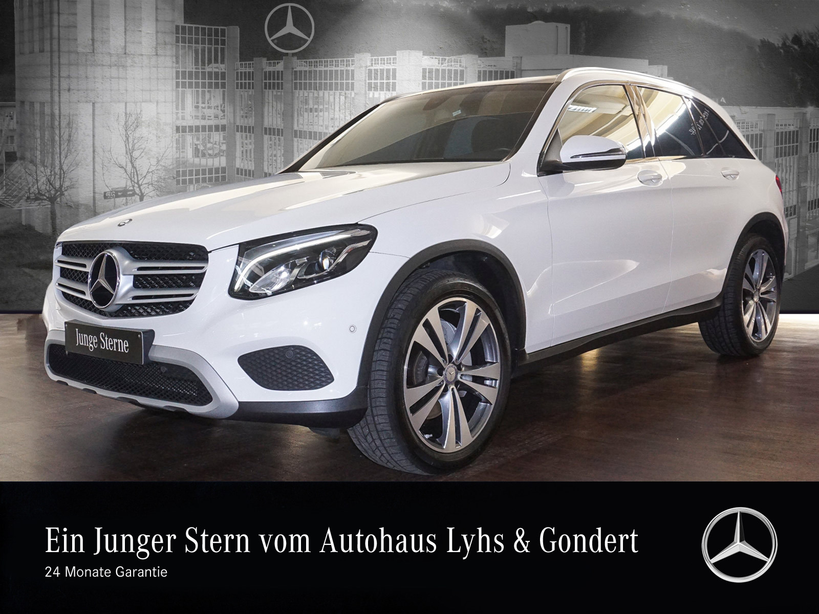 Mercedes-Benz GLC 250 d 4M Pano.-Dach LED Navi PDC, Jahr 2016, Diesel