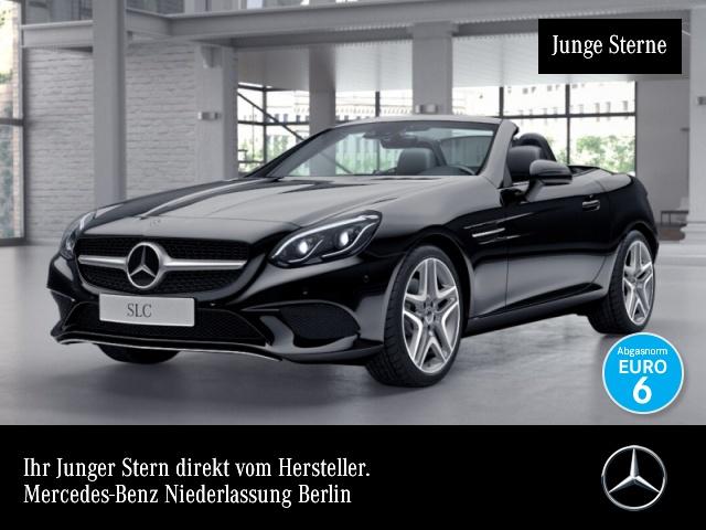 Mercedes-Benz SLC 300 Pano Distr. COMAND ILS LED Airscarf EDW 9G, Jahr 2017, Benzin