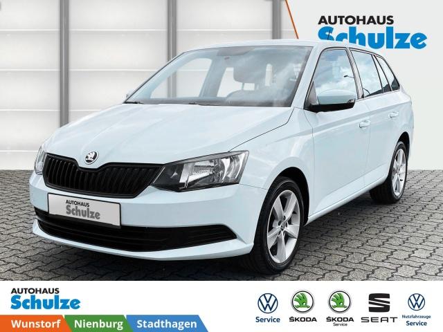 Skoda Fabia Combi 1.0 MPI Active, Klimaanlage, Bluetooth, Jahr 2015, Benzin