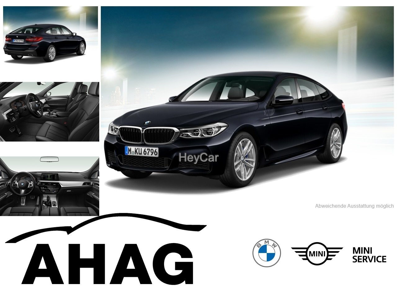 BMW 630 Gran Turismo GT A M Sportpaket Innovationsp., Jahr 2020, Diesel