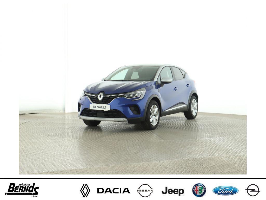 Renault Captur TCe130 GPF EXPERIENCE VISION + DELUXE Pkt., Jahr 2020, Benzin