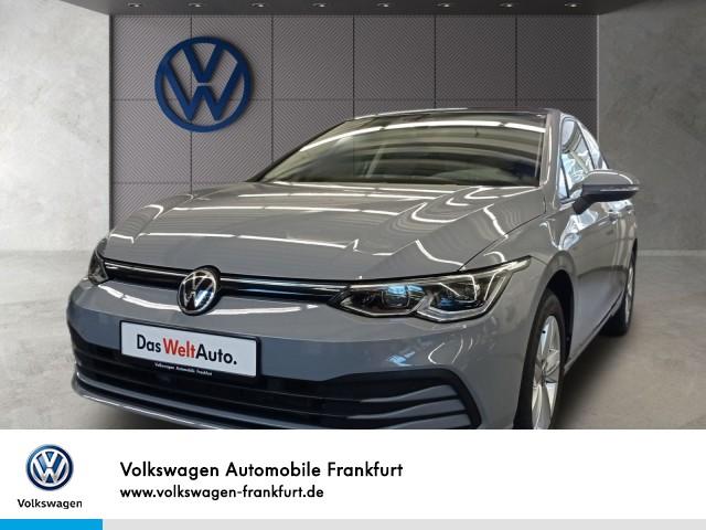 Volkswagen Golf VIII 1.0 TSI Life Navi Klima Panoramadach Rückfahrkamera Golf 1,0 Life BT081 TSIM6F, Jahr 2020, Benzin
