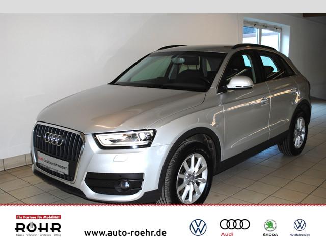 Audi Q3 (SHZ,Bluetooth,Klima,Navi,Xenon) 2.0 TDI quattro, Jahr 2014, Diesel