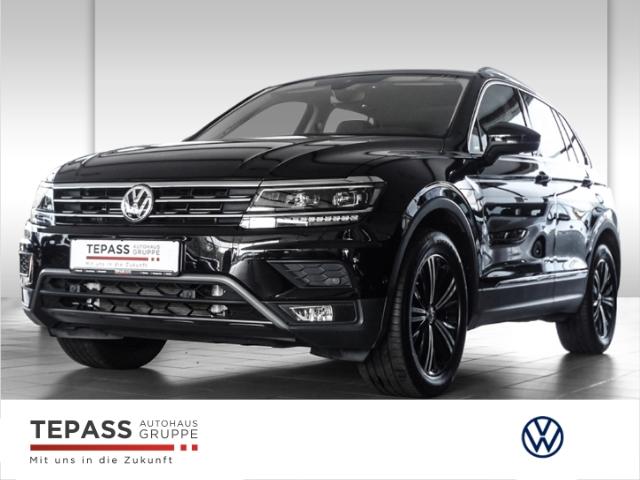 Volkswagen Tiguan 2.0 TSI DSG 4Motion Highline LED NAVI LEDER PANO SHZ AHK, Jahr 2017, Benzin