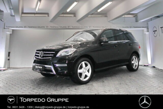 Mercedes-Benz ML 400 4M AMG NAVI+COMAND+XENON+PANO+STHZ+AHK+DI, Jahr 2015, petrol