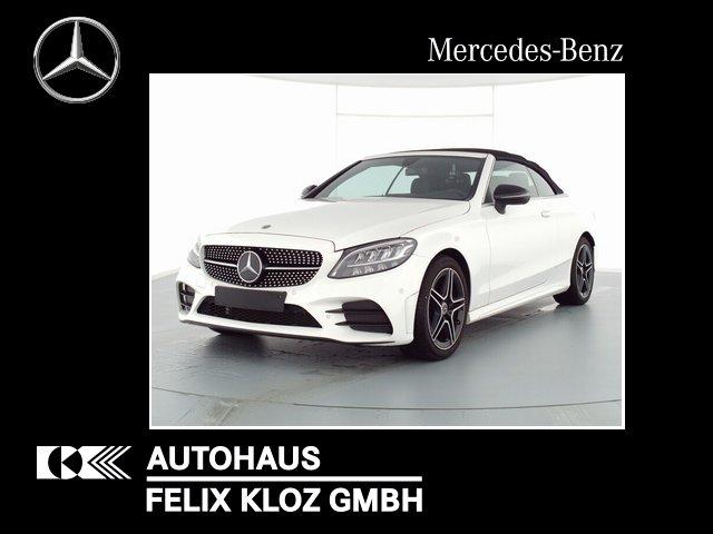 Mercedes-Benz C 180 Cabrio AMG-Line Night Navi AHK Kamera PDC, Jahr 2020, Benzin