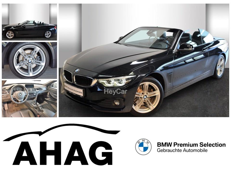 BMW 430d Cabrio Advantage Navi Prof. Aut. Klimaaut., Jahr 2017, Diesel