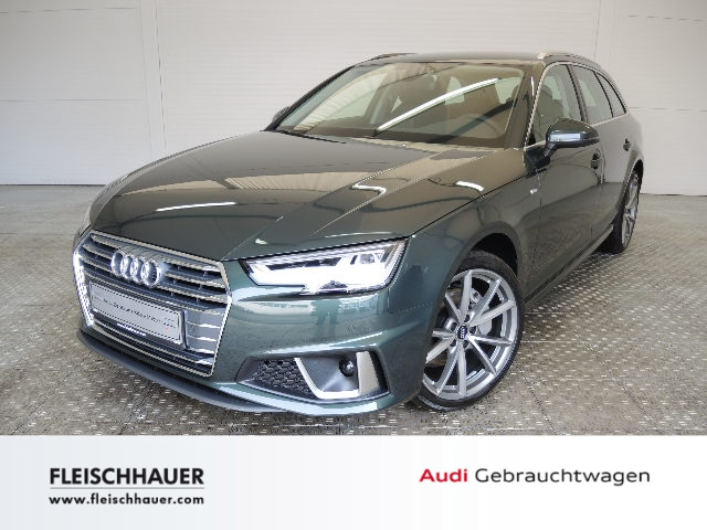 Audi A4 Avant sport 40 TDI S tronic S line UPE: 59.780 AHK Einparkhilfe Sitzheizung LED, Jahr 2018, Diesel