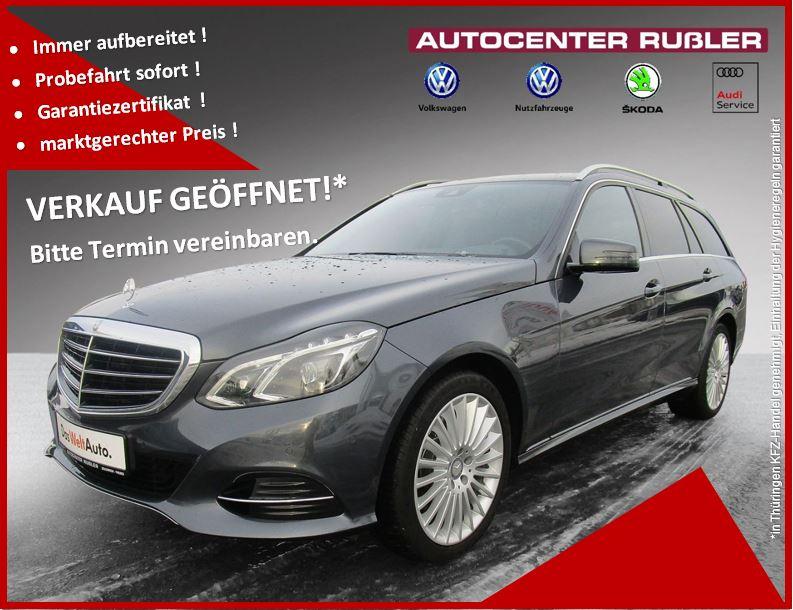Mercedes-Benz E 350 E Eleg. AHK, Navi, Alu 8fach bereift, Jahr 2014, Diesel