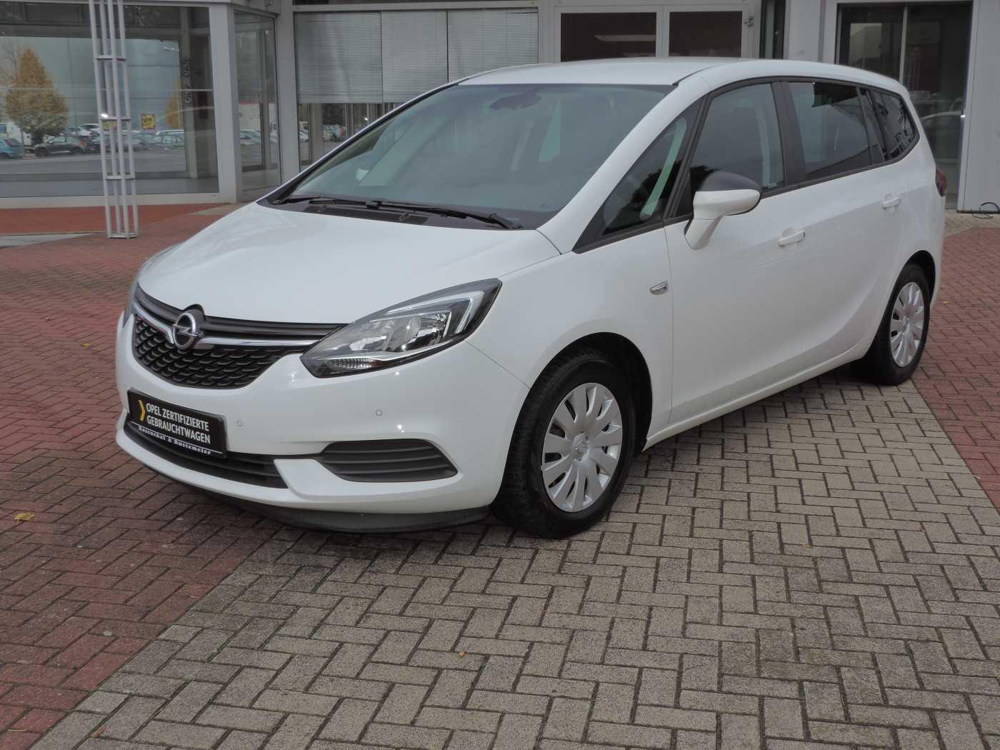 Opel Zafira 1.6 D Edition AHK BLUETOOTH PARKPILOT, Jahr 2017, Diesel