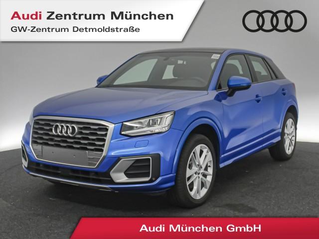 "Audi Q2 1.4 TFSI Sport Virtual LED Pano AHK ACC SideAssist Navi PDCplus 18"" 6-Gang, Jahr 2017, petrol"