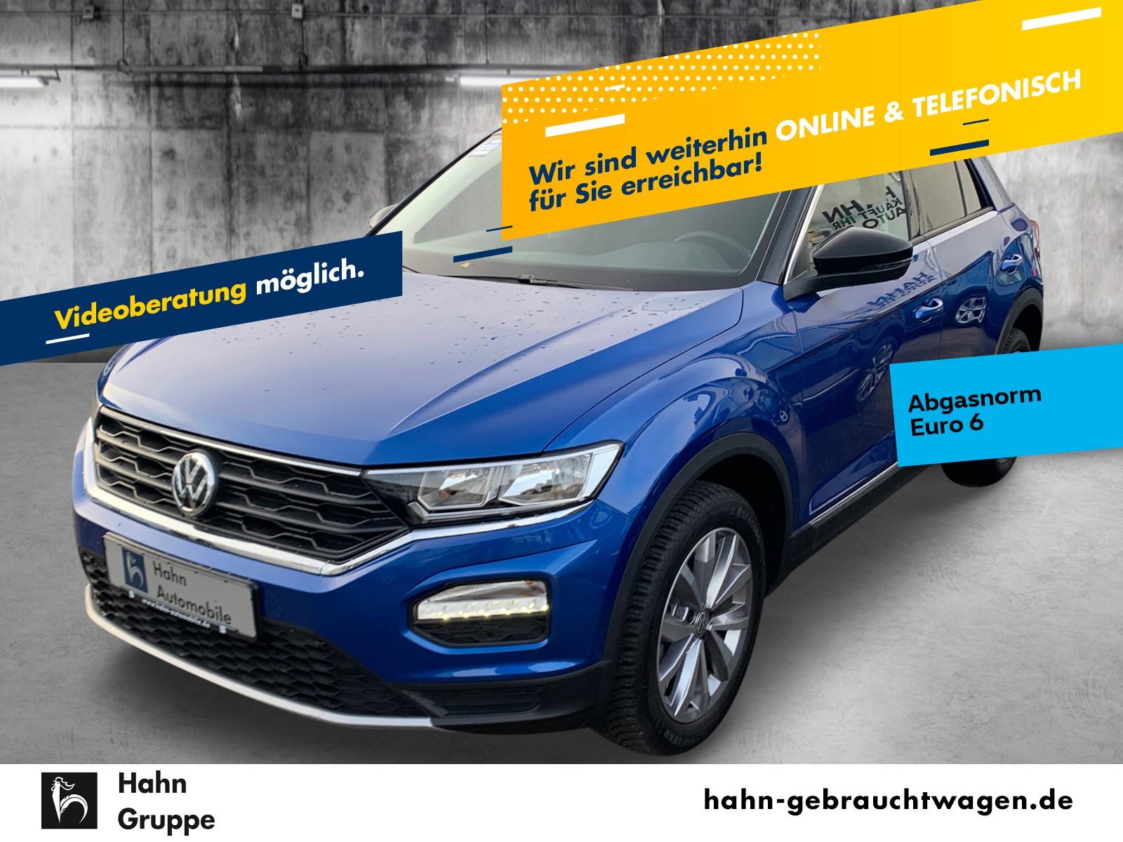 Volkswagen T-ROC Style 1.0TSI Navi Pano Einpark Cam Klima, Jahr 2018, Benzin