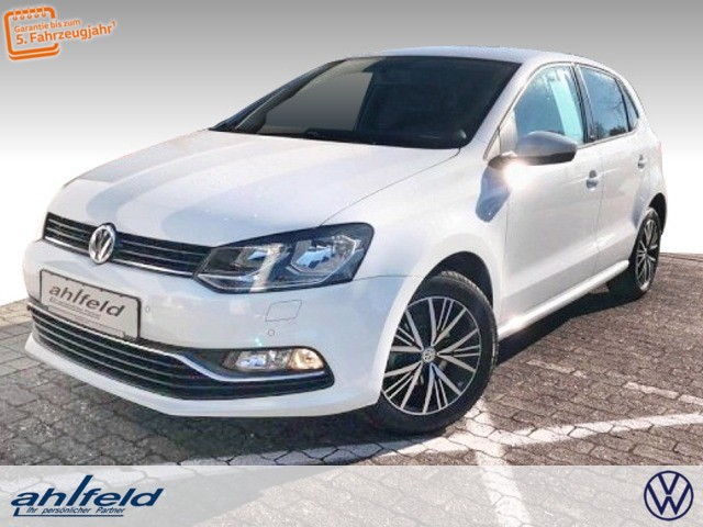 Volkswagen Polo Allstar 1.0 SHZ Klimaauto LM PDC USB Klima, Jahr 2016, Benzin