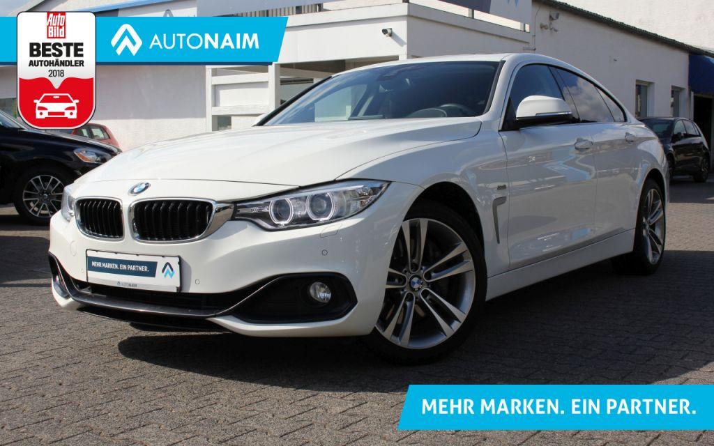 BMW 435i Gran Coupe xDrive Aut. Sport Line  NAVI PROF. HUD SCHIEBEDACH , Jahr 2016, Benzin