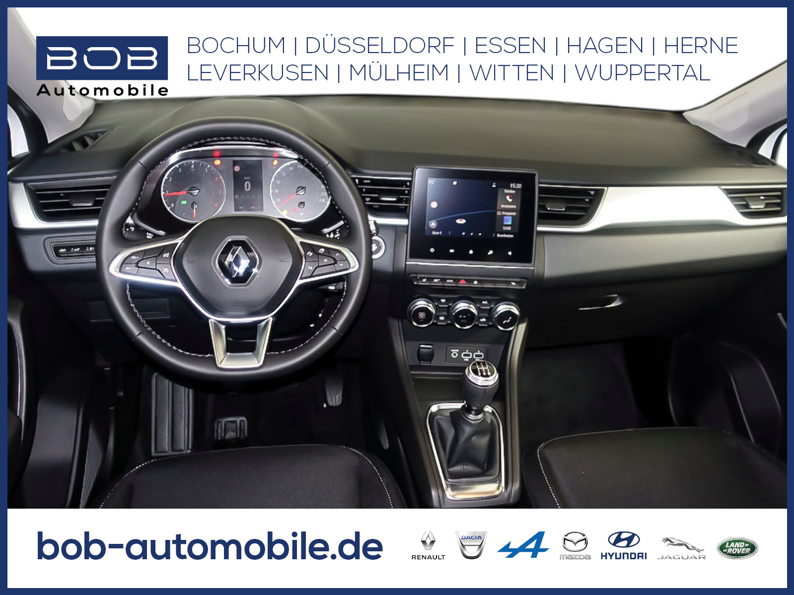 Renault Captur EXPERIENCE TCe 100 NAVI SHZ PDC KLIMA BT, Jahr 2020, Benzin