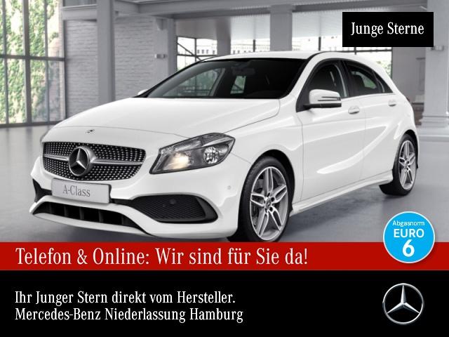 Mercedes-Benz A 220 4M AMG Navi PTS 7G-DCT Sitzh Sitzkomfort, Jahr 2017, Benzin