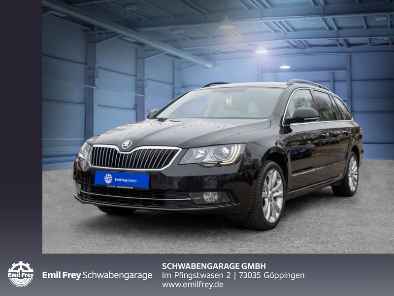 Skoda Superb Combi 2.0 TDI Green tec Exclusive, Jahr 2014, Diesel