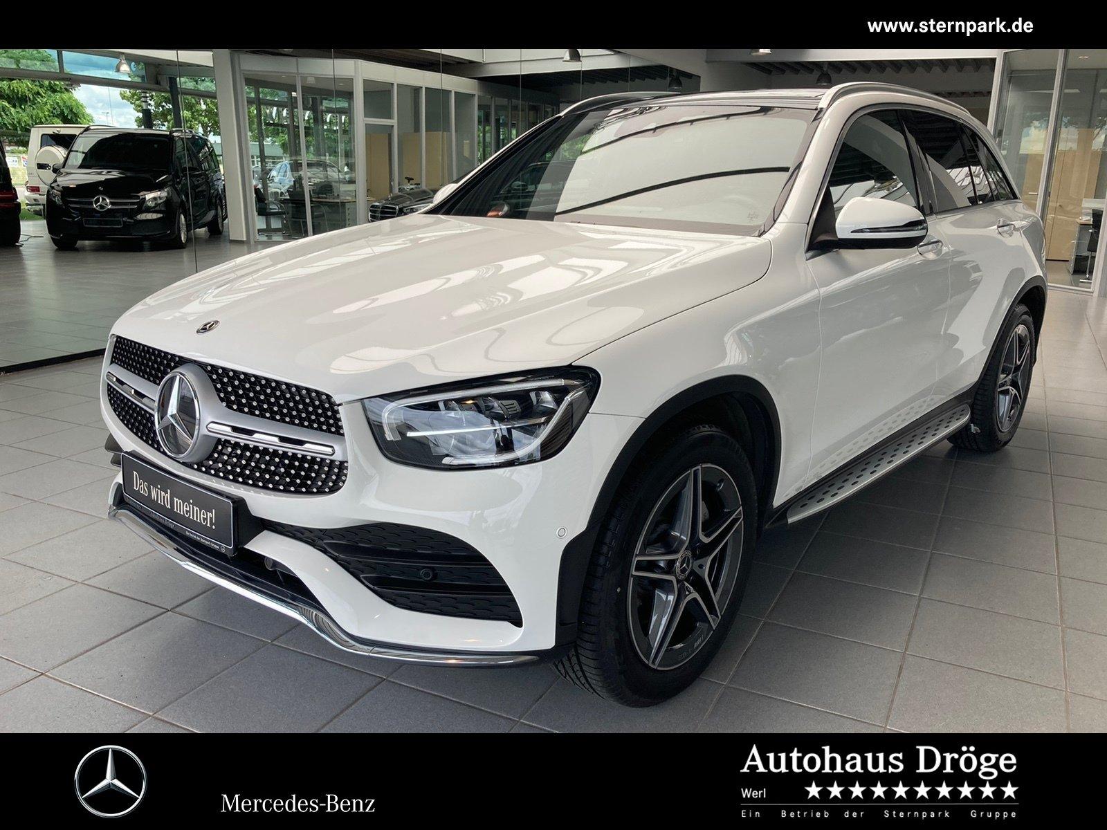 Mercedes-Benz GLC 300 4M AMG Pano*Distronic*LED*Kamera*Spur*19, Jahr 2019, Benzin