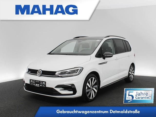 Volkswagen Touran 1.5 TSI OPF R line Ext. BlackStyle Navi LED Panorama Kamera Standhz. DSG, Jahr 2020, Benzin