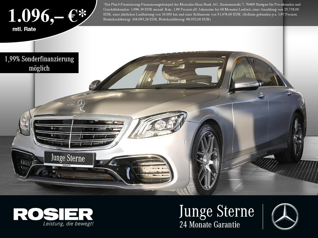 Mercedes-Benz S 63 AMG 4M+ L, Jahr 2019, Benzin