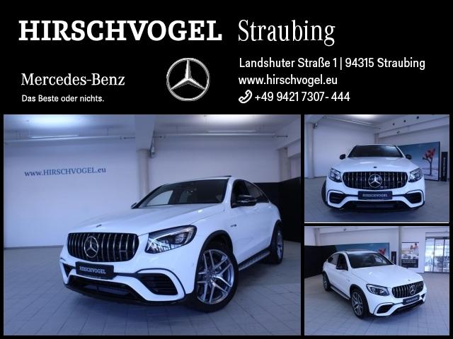 Mercedes-Benz GLC 63 AMG 4M Night+ABC+SD+AHK+DISTRONIC+Com+ILS, Jahr 2018, petrol