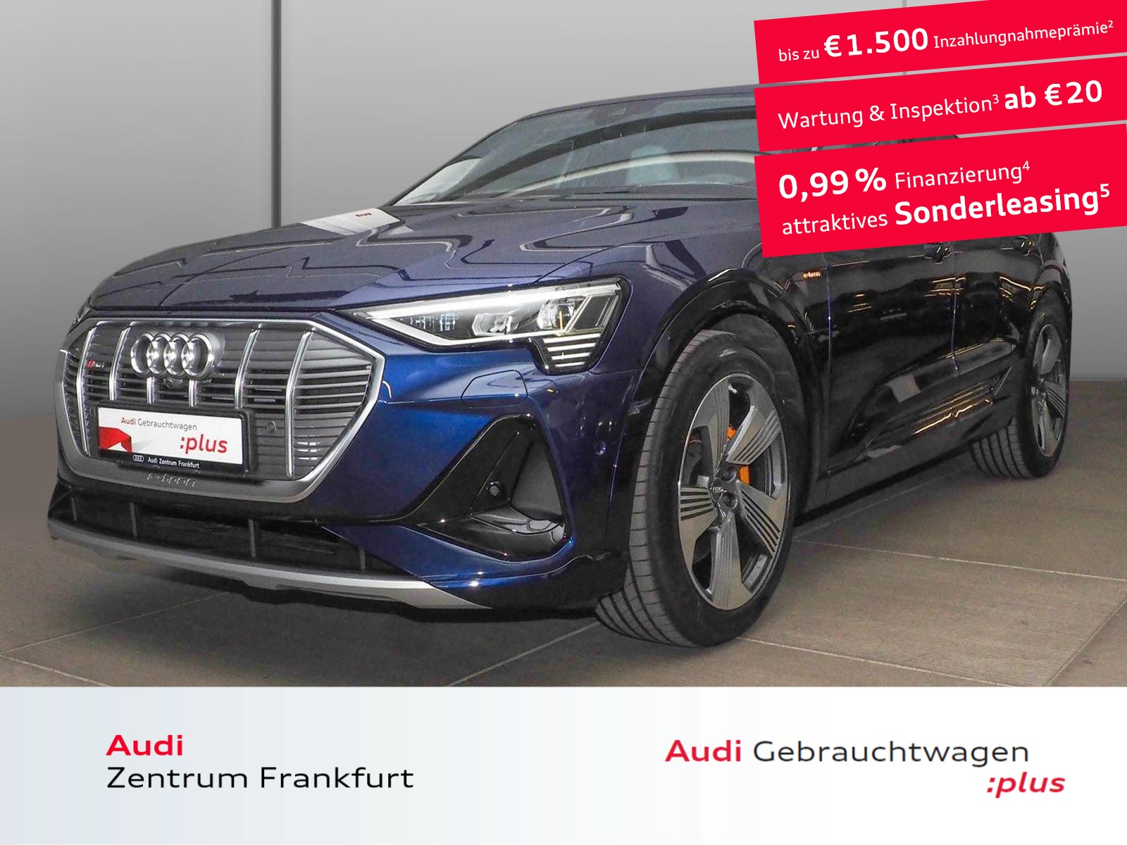 Audi e-tron Sportback 50 quattro S line Matrix-LED Pano virtuelle Außenspiegel Head Up, Jahr 2020, Elektro