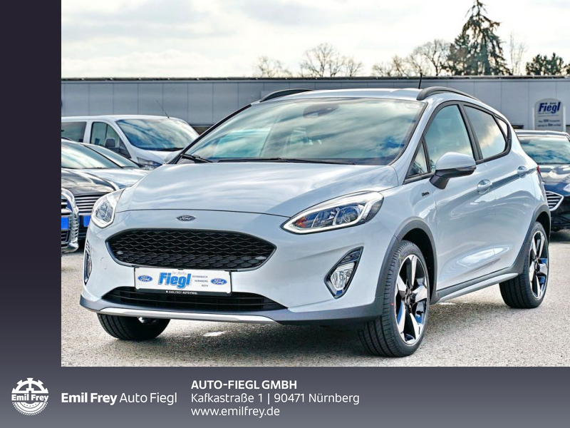 Ford Fiesta 1.0 EcoBoost S&S ACTIVE 70 kW, 5-türig, Jahr 2020, Benzin