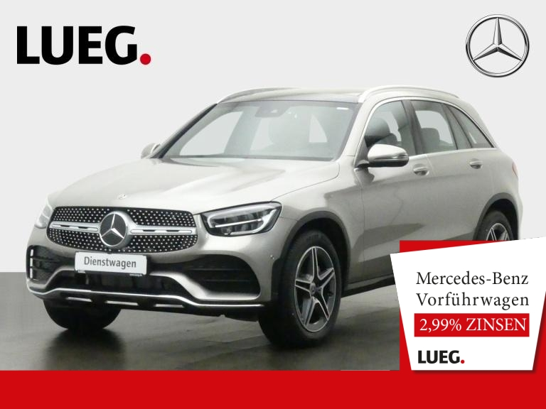 Mercedes-Benz GLC 200 4M AMG+19''+SP-/ASS-P+KAM+PANO+AHK+SOUND, Jahr 2020, Benzin