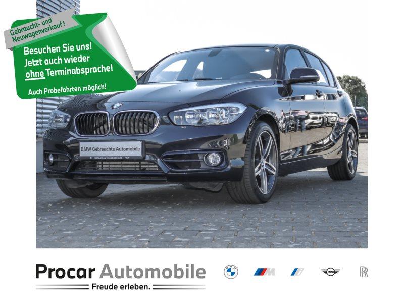 BMW 120d 5-Türer Sport Line Aut. Navi Leder Klimaaut, Jahr 2016, Diesel