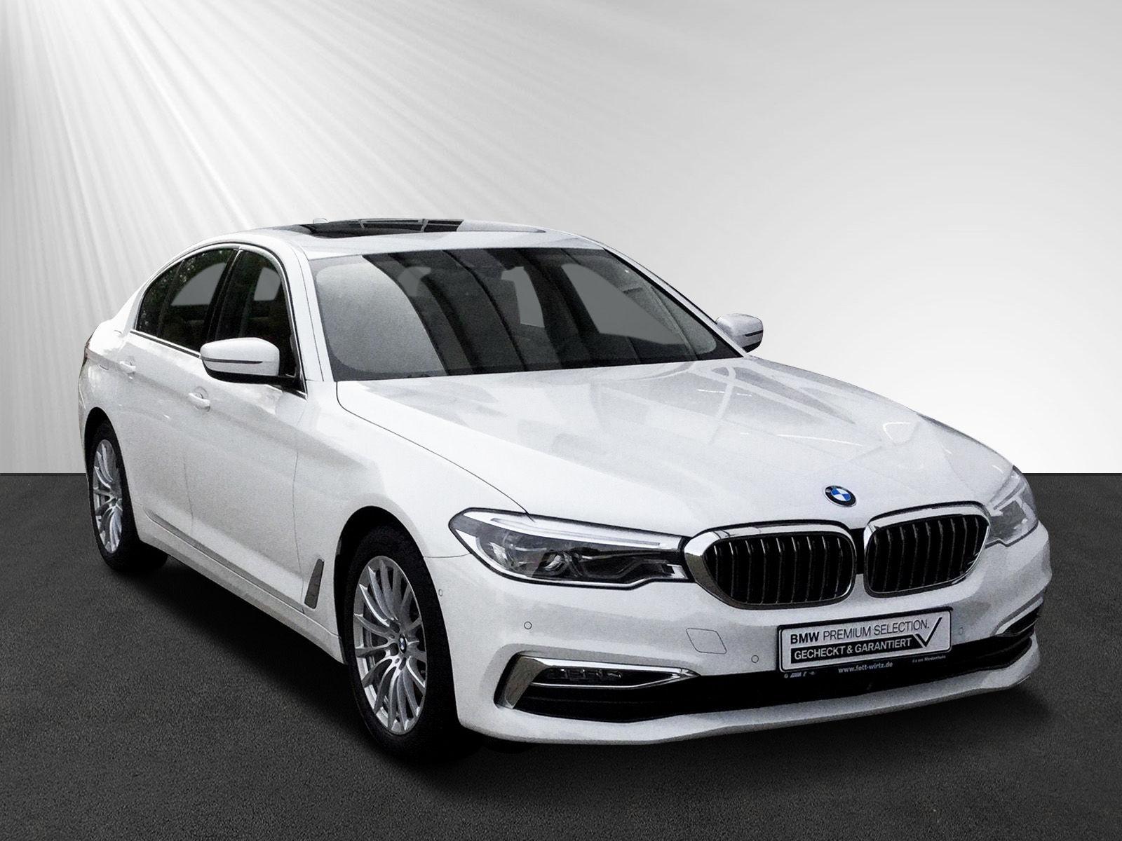 BMW 540i Luxury Line DA+ GSD HUD Leder HiFi, Jahr 2018, petrol