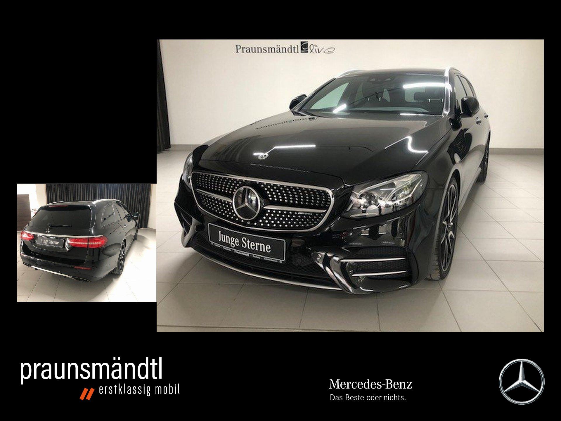 Mercedes-Benz E 43 AMG T 4M Sound/StaHz/Pano/360°/Distr/20/Wid, Jahr 2017, Benzin