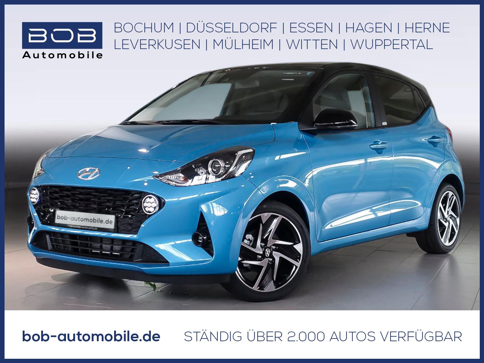 "Hyundai i10 1.2 Benzin Style Navi-P 16""Alu SHZ KAMERA, Jahr 2020, petrol"