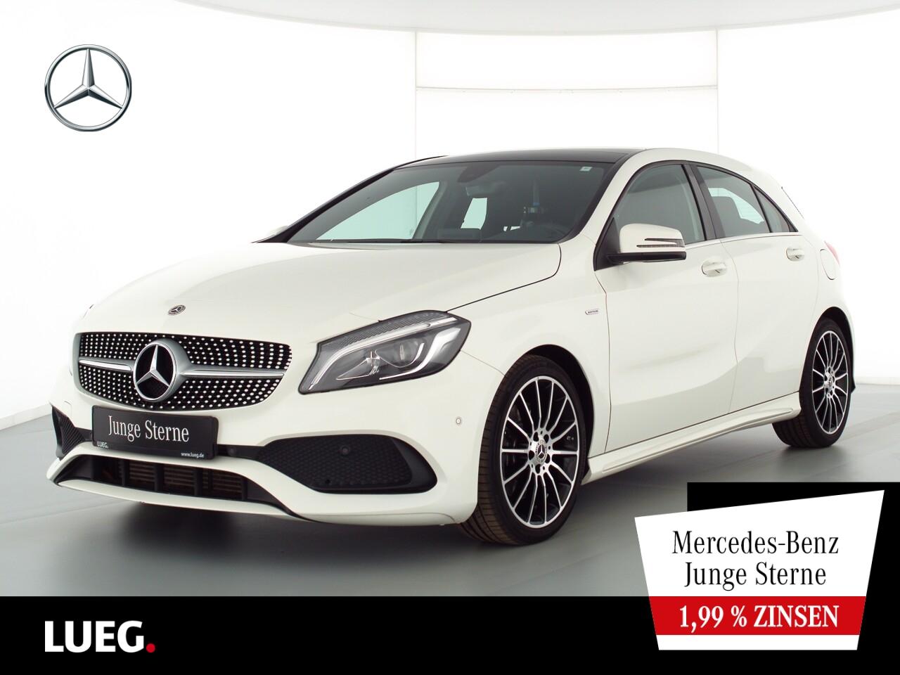 Mercedes-Benz A 220 d AMG+Navi+Pano+LED-HP+PEAK+Totw+ParkPilot, Jahr 2018, Diesel