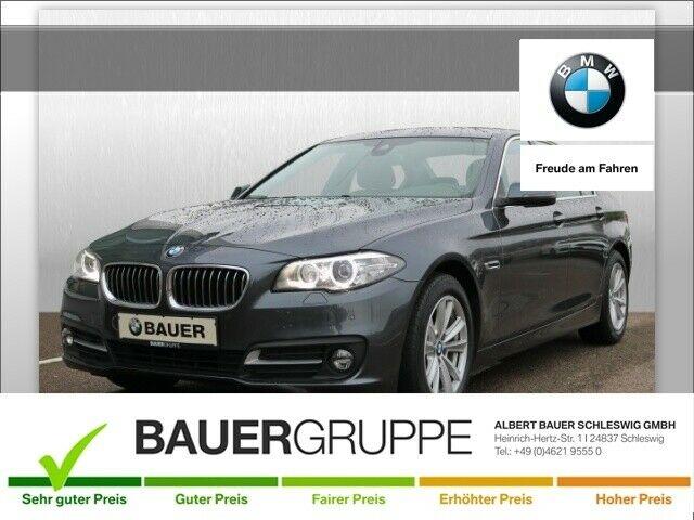BMW 520 dDPF Euro 6 Bluetooth Navi Klima PDC Kurvenlicht Fernlichtass. PDCv+h LED-Tagfahrlicht, Jahr 2016, Diesel
