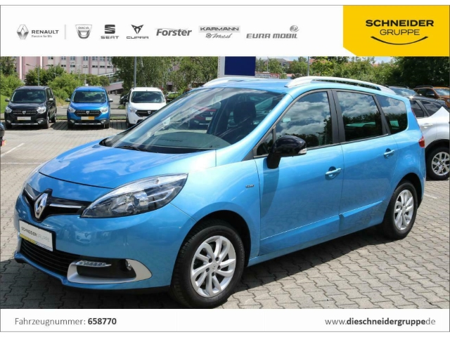 Renault Grand Scenic ENERGY TCe 115 S&S Deluxe Limited, Jahr 2015, Benzin